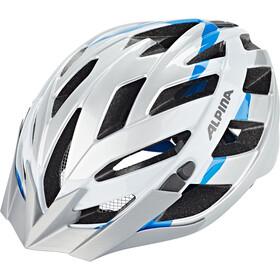 Alpina Panoma 2.0 Cykelhjelm, silver-white cyan